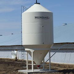 Meridian Smoothwall Feed Bins