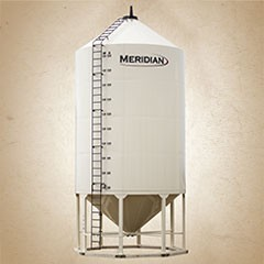 Meridian Smoothwall Liquid Hopper Bins