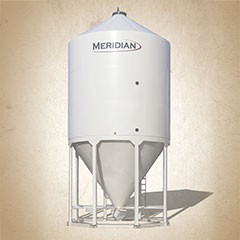 Meridian Smoothwall Steep Cone Bins