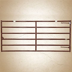 Sioux 2 inch Hi-Country 6 Bar Cattlemans Gate (52 inch height)