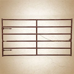 Sioux 2 inch Hi-Country 6 Bar Super Six Gate (61.5 inch height)