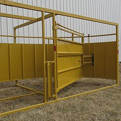 Sioux Portable Working System Alley & Tub with Auto or Manual Head Gate