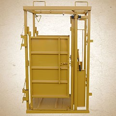 Sioux Palp Cage with Slick Door