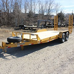 Titan 16 ft Construction Bumper Hitch Utility Trailer