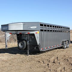 Titan 24 ft Rancher Gooseneck Stock Trailer