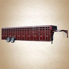 Titan 30 ft Standard Gooseneck Stock Trailer